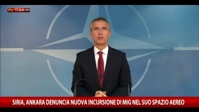 Siria, Ankara denuncia una nuova incursione nei suoi cieli