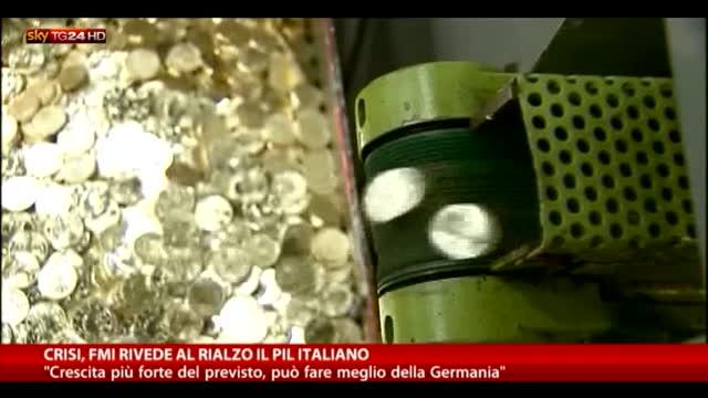 Crisi, il FMI rivede al rialzo il Pil italiano