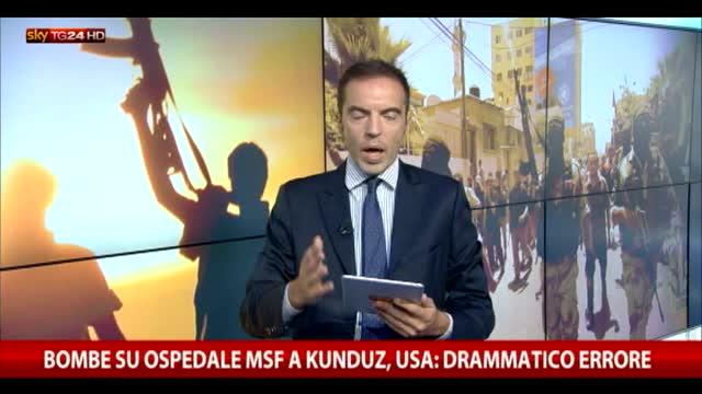 Siria, gli obbiettivi dei raid russi