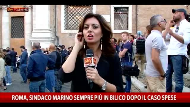 Roma, sindaco Marino sempre più in bilico