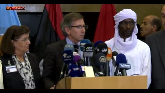 Libia, intesa per un accordo di unità nazionale