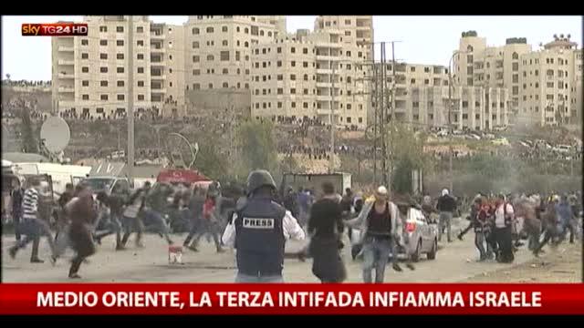 Medio Oriente, terza intifada infiamma Israele