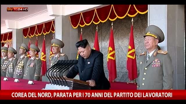Corea del Nord, i 70 anni del partito dei lavoratori
