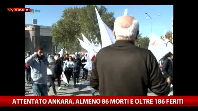 Attentato Ankara, almeno 97 morti e oltre 186 feriti