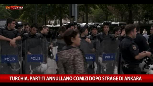 Strage Ankara, ordine di riservatezza su atti inchiesta