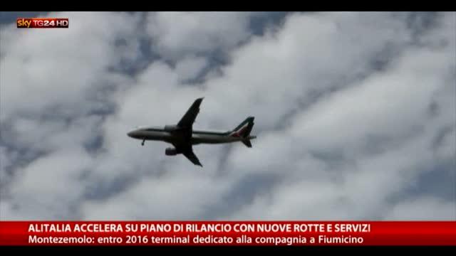 Nuove rotte e servizi, Alitalia accelera piano di rilancio
