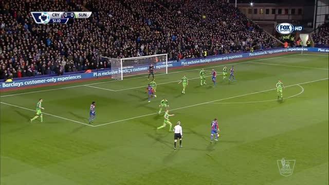 Crystal Palace-Sunderland 0-1