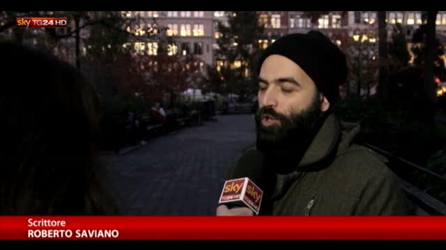 "Isis, Saviano a Sky TG24: ""Belgio centrale"""