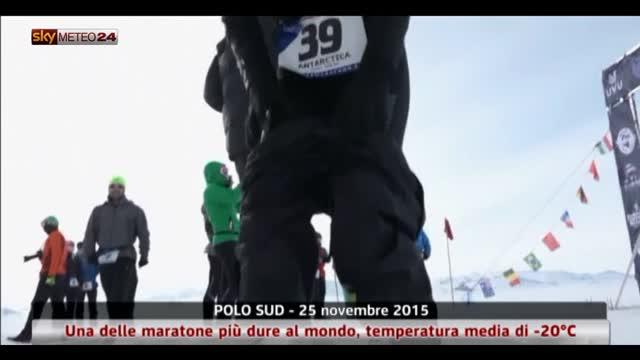 Maratona al Polo Sud