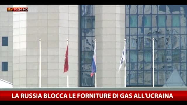 La Russia blocca le forniture di gas all'Ucraina