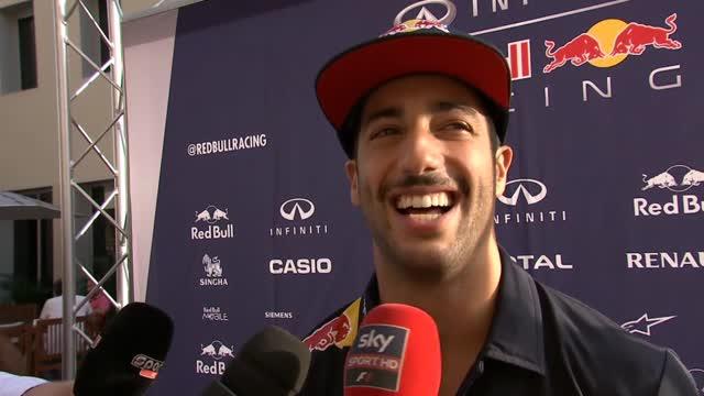 """Ricciardo non ha dubbi: """"La mia stagione è da 8"""""""