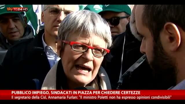 Furlan: Poletti non ha espresso opinioni condivisibili