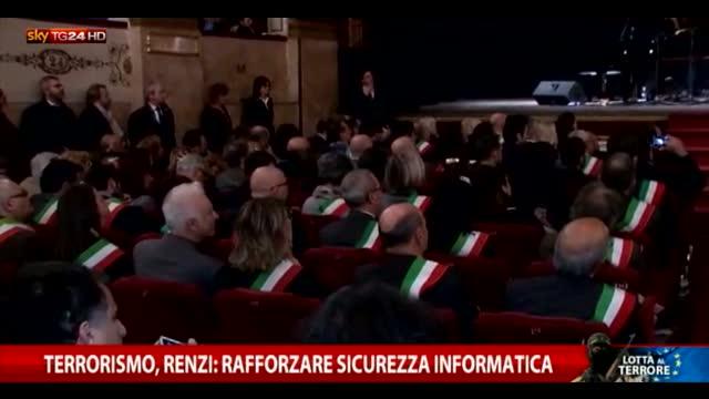 Terrorismo, Renzi: ripartiamo dai nostri ideali