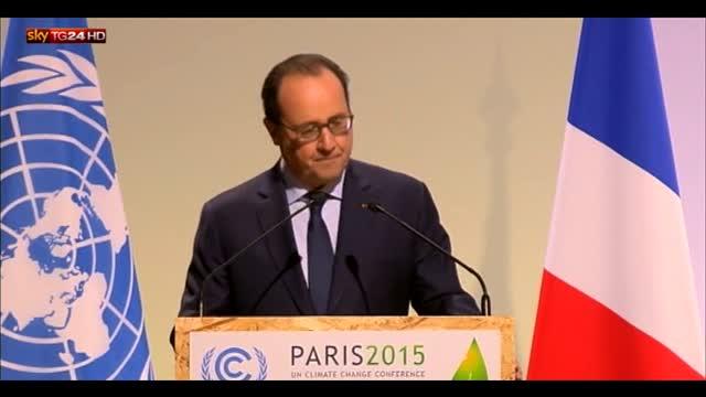 Vertice sul clima, Hollande: oggi è un giorno storico