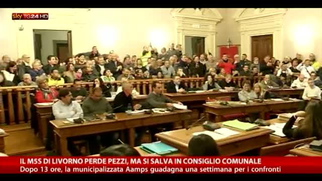 Livorno, M5s perde pezzi ma si salva in consiglio per Aamps