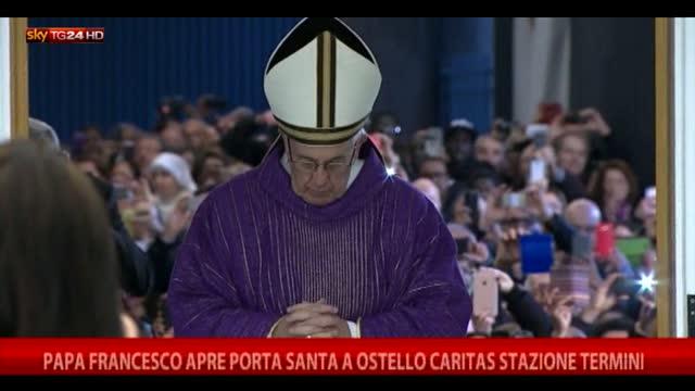 Papa francesco apre porta santa a ostello caritas video sky - Sky ti porta al cinema ...