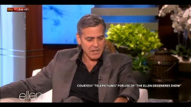 Clooney racconta come ha chiesto la mano ad Amal