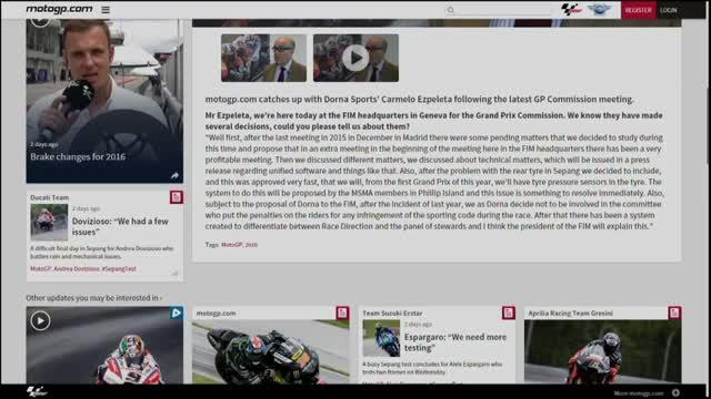 MotoGP 2016, spazio al nuovo organismo giudicante