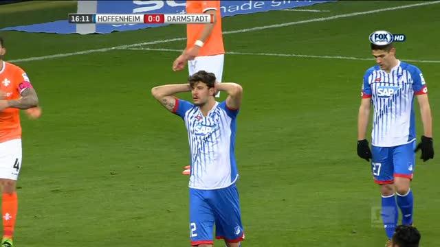 Hoffenheim-Darmstadt 0-2