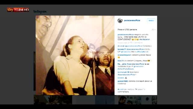 Madonna posta foto di se stessa e sbaglia: è Paola Barale
