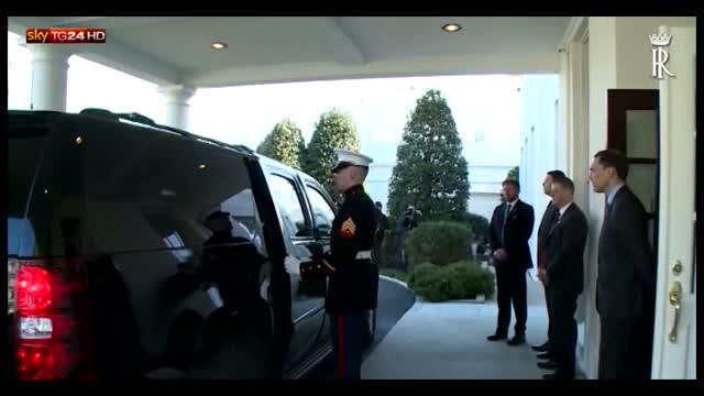 Washington, Obama incontra Mattarella alla Casa Bianca