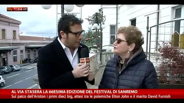 Al via la 66esima edizione di Sanremo