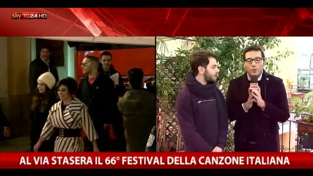 Sanremo, Lorenzo Fragola sarà il primo a cantare