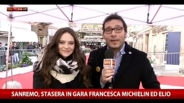 Sanremo, stasera in gara Francesca Michielin ed Elio