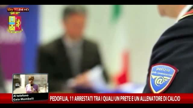 Pedofilia, 11 arresti tra cui un sacerdote e un allenatore