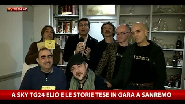 A Sky TG24 Elio e le storie tese, in gara a Sanremo