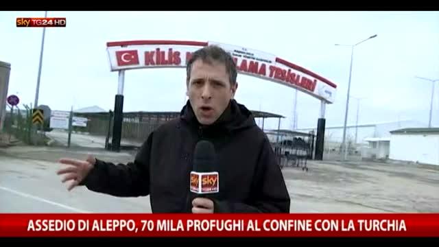 L'inviato di Sky TG24 al confine tra Siria e Turchia