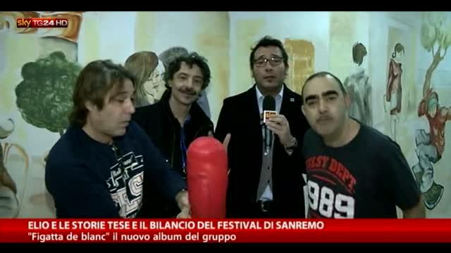 Elio e le storie tese e il bilancio di Sanremo
