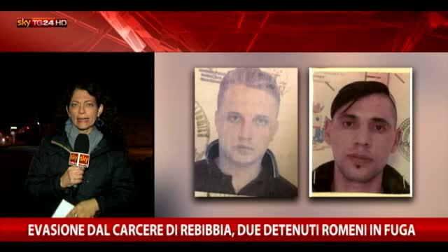 Evasione dal carcere di Rebibbia, due detenuti in fuga