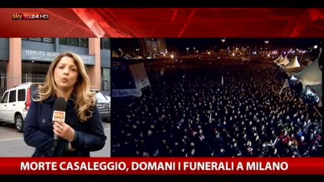 Camera ardente per Gianroberto Casaleggio