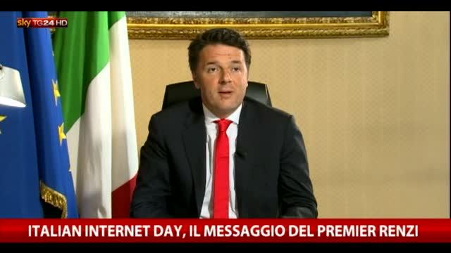 """Internet Day, Renzi: """"Incomprensibili contestazioni di oggi"""""""