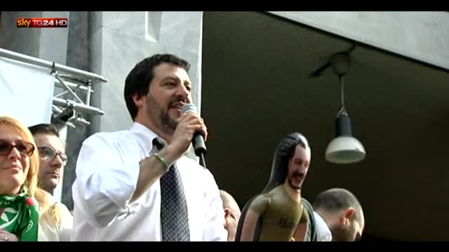 Amministrative, a Milano Salvini lancia candidatura Parisi