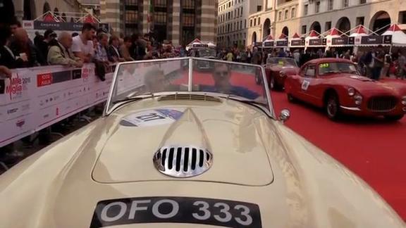 Al via la Mille Miglia 2016: 450 le auto alla partenza