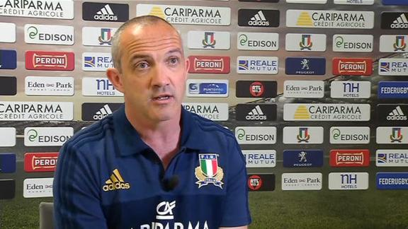 Rugby, O'Shea si presenta: farò Italia più forte di sempre
