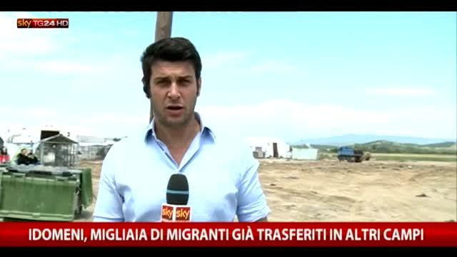 Migranti, Sky TG24 nel campo di Idomeni