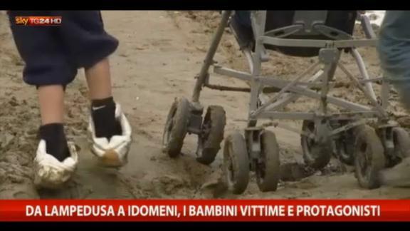 Da Lampedusa a Idomeni, i bambini vittime e protagonisti