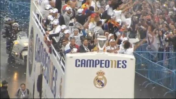 Marea Real, scoppia la festa a Madrid