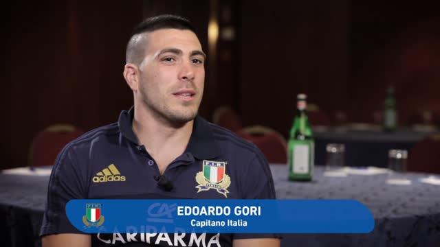 Rugby, Gori capitano dell'Italia in tour