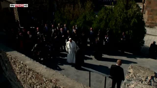 Papa in Armenia, Turchia attacca Bergoglio