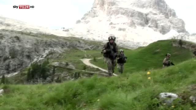 5 Torri 2016, l'annuale esercitazione delle truppe alpine