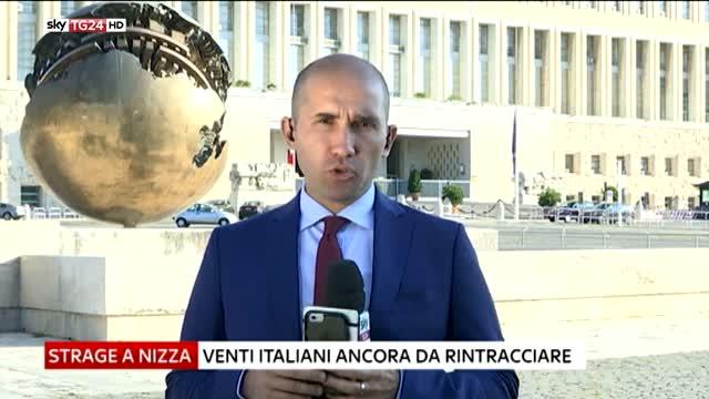 Nizza, Farnesina lavora per rintracciare italiani dispersi