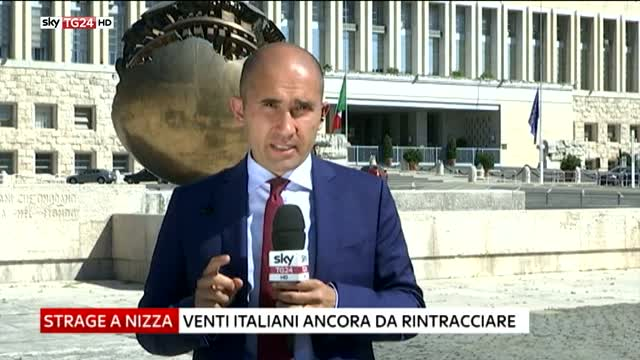 """Nizza, Farnesina: """"Rintracciati altri italiani dispersi"""""""