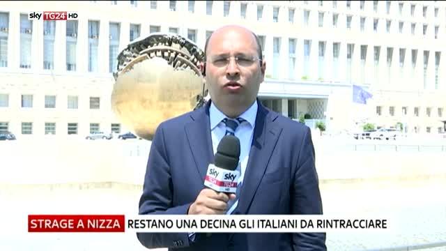 """Nizza, Farnesina: """"Rintracciati alcuni italiani dispersi"""""""