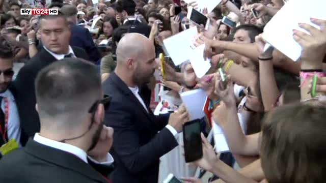 Giffoni, fan in delirio per il cast di Gomorra