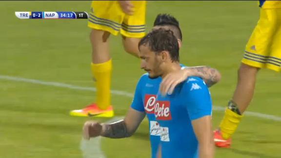 Trento-Napoli 0-4