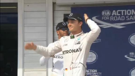 Nessuna penalità per Rosberg: partirà dalla pole